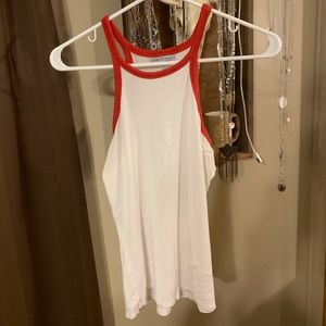 Tops - Red & White tank top from Charlotte Russe 😘